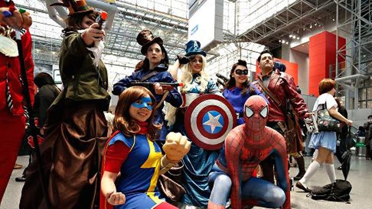 Celebrating Comics through Los Angeles Comic Con