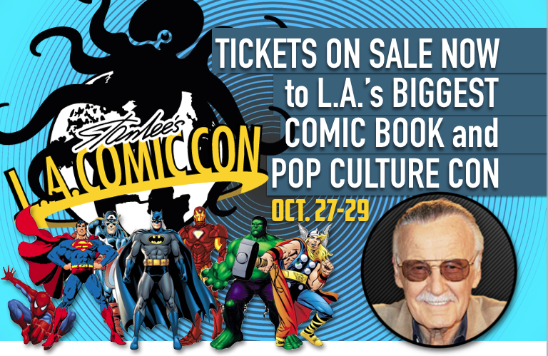 Celebrating Comics through Los Angeles Comic Con