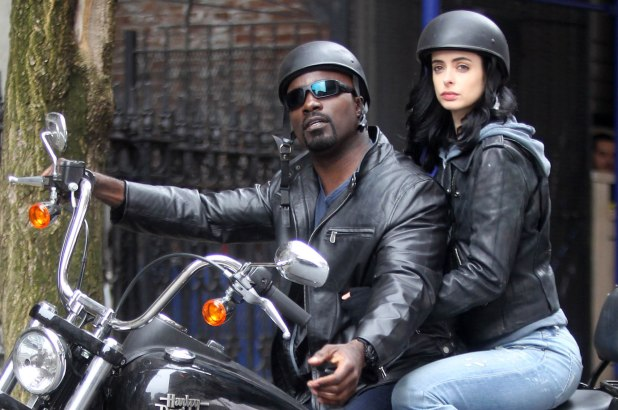 Luke Cage and Jessica Jones