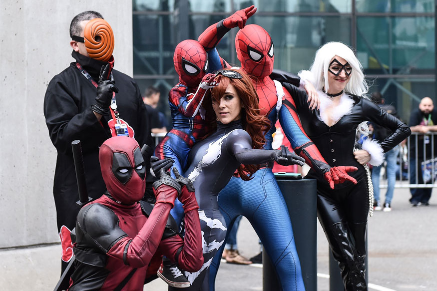 Cosplay and comic con