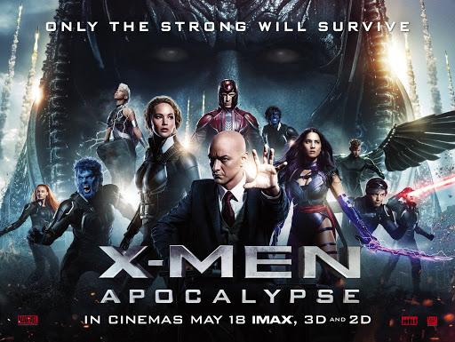 Alur Dan Pemain Pada Film X- Men Apocalypse