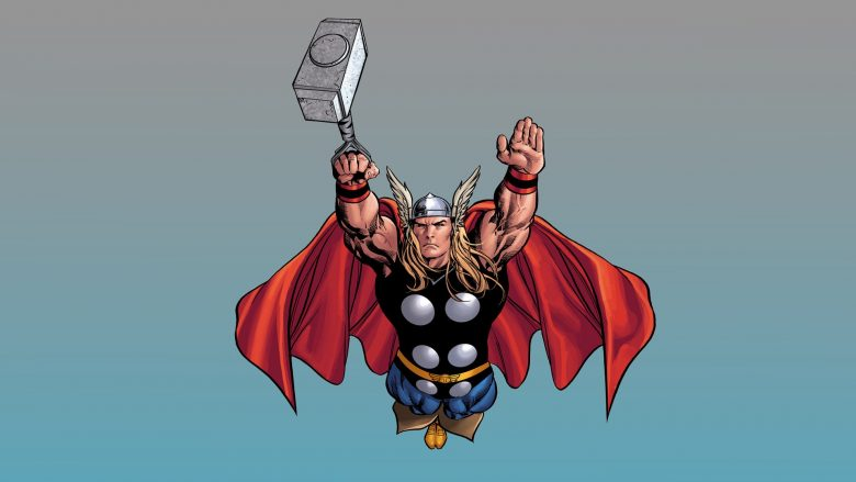 Marvel Thor Serta Karakter Dalam Komik