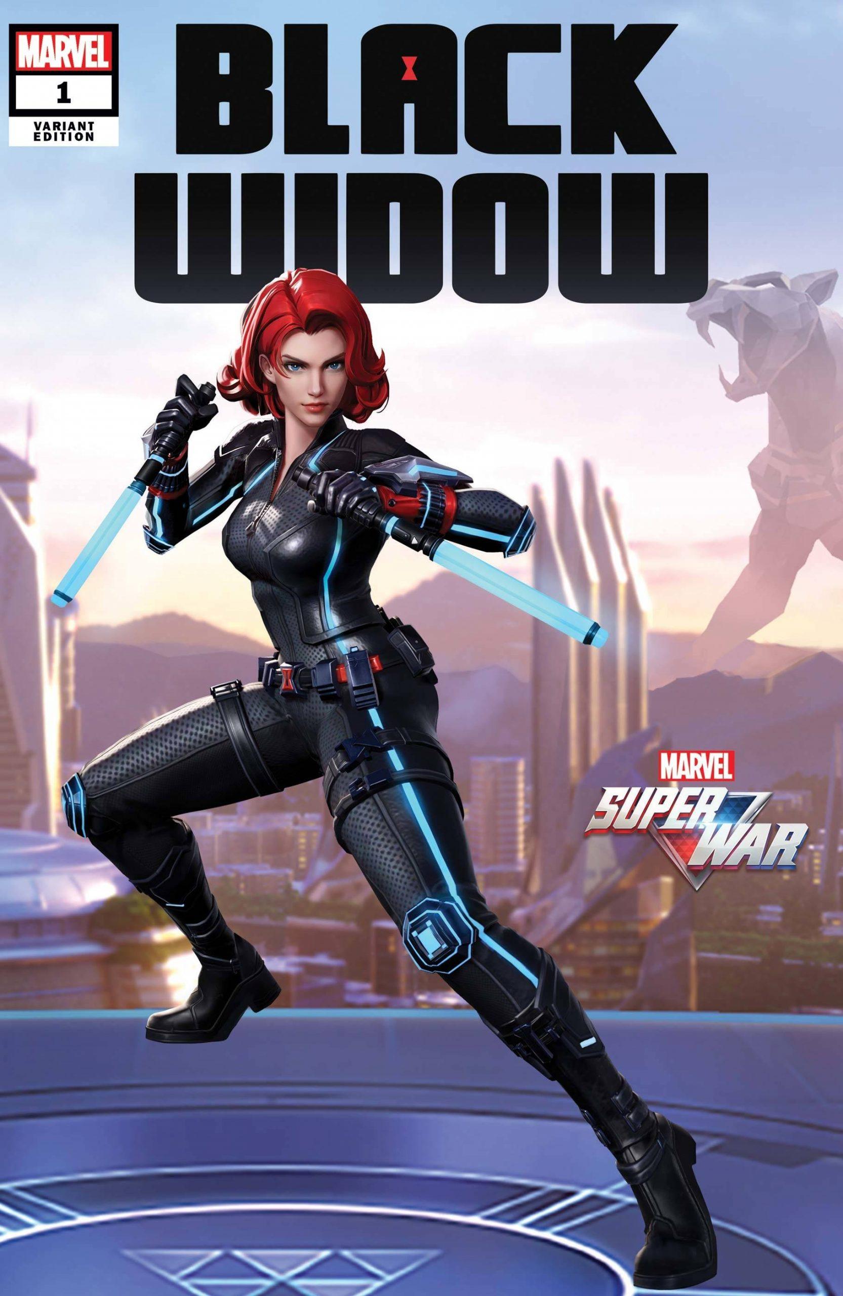 Black Widow Komik Karya Stan Lee Yang Merupakan Superhero Wanita