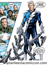 Quicksilver Karakter Yang Diciptakan Stan lee